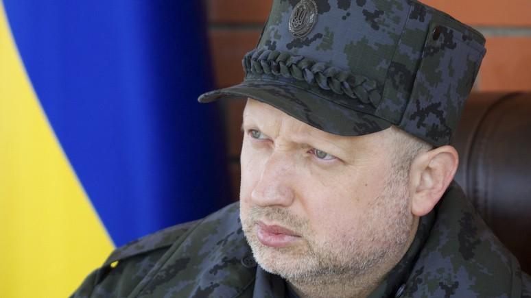 Турчинов: Киев ужесточит контроль над границей с Россией