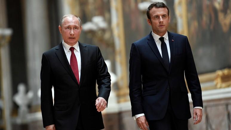 Reuters: Макрон призвал Путина защитить граждан Сирии