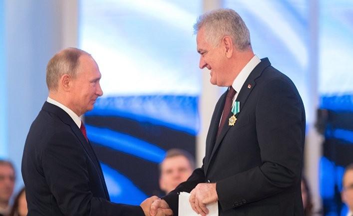 Россия отправила Сербии «послание»