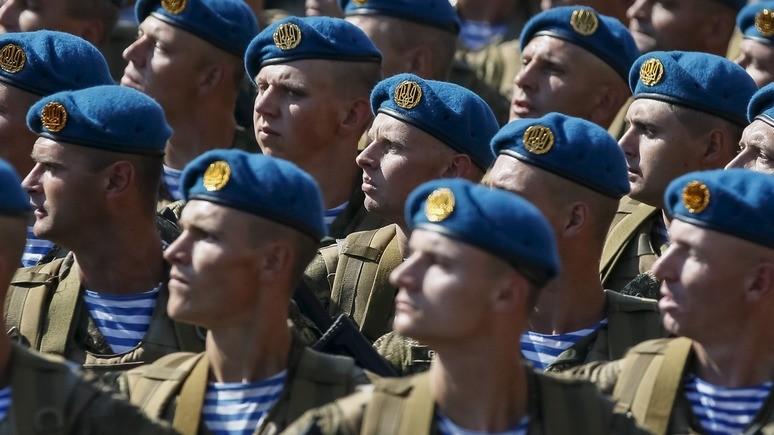 Корреспондент: Украина отказалась от «советского» Дня ВДВ и голубого берета
