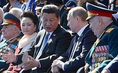 Военно-промышленный треугольник: Россия, Украина и Китай