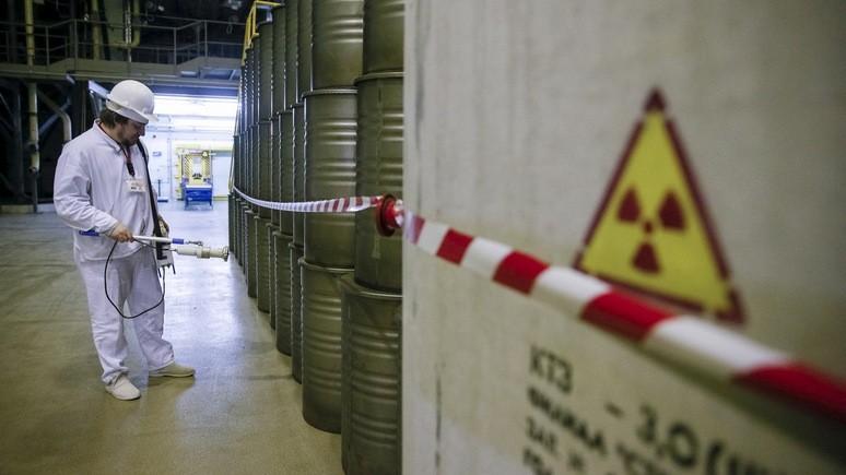 ORF: Украина строит хранилище ядерных отходов ради независимости от России