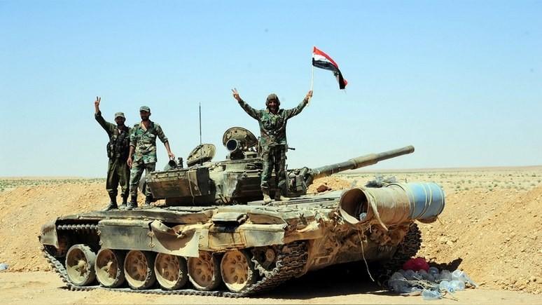 The Times: силы Асада лишили ИГ последнего крупного города, и США этому не рады
