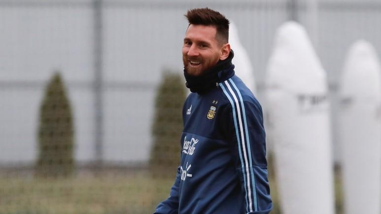 Clarín: Лионель Месси рассказал в Москве о впечатлениях от нового мяча