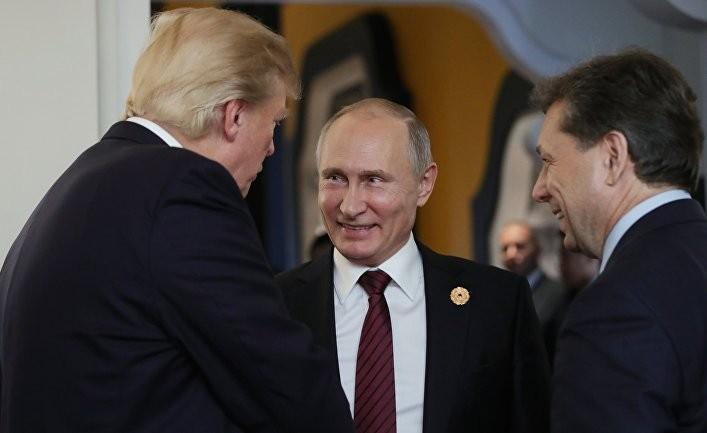 Путин оценил общение с Трампом на АТЭС