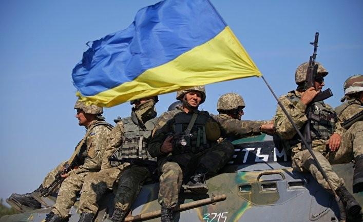 Русский солдат на службе Украины