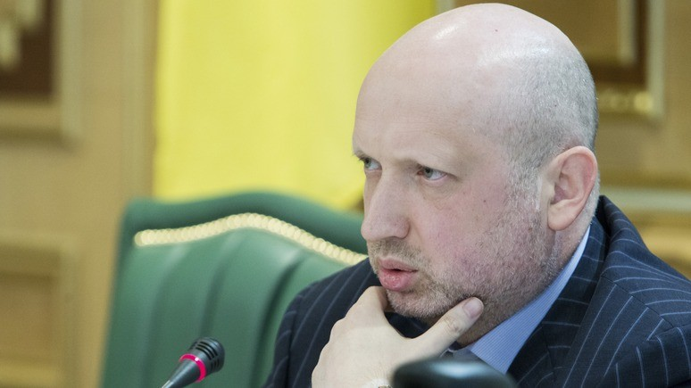 УП: Турчинов заявил о намерении России «перекрасить» свои войска под миротворцев