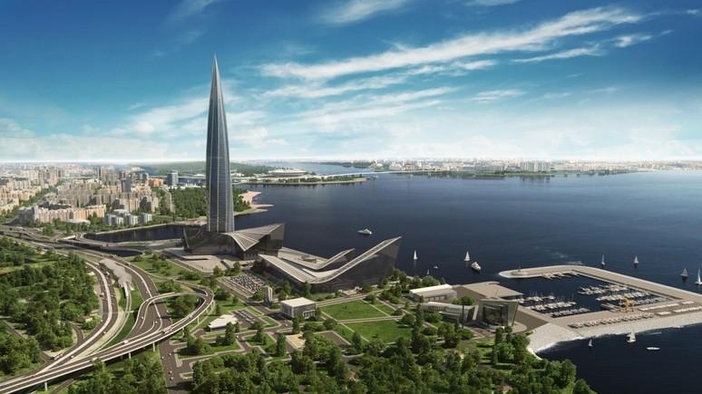 Bild: высочайший небоскрёб Европы в Петербурге покажет мощь «Газпрома»
