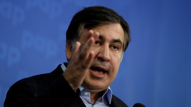 Левый берег: Саакашвили будет митинговать под Радой каждое воскресенье