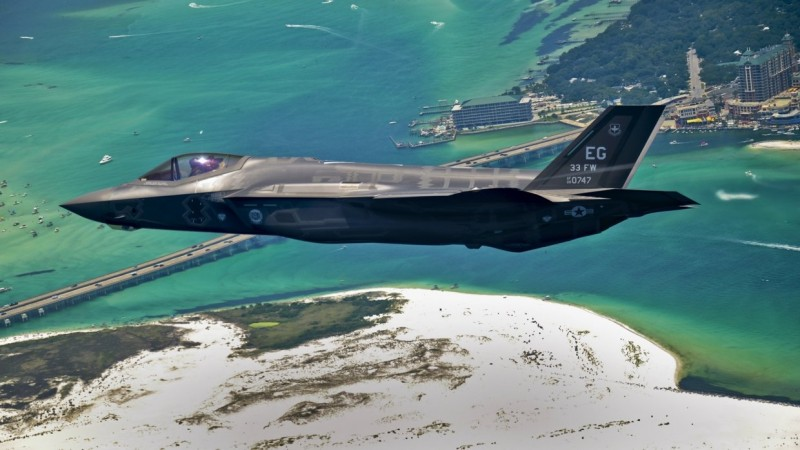 США готовят истребитель-бомбардировщик F-35 для войны с Россией и Китаем