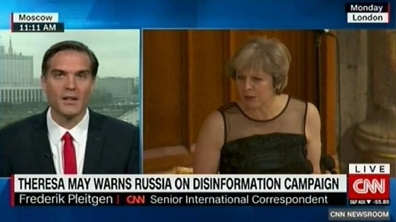 CNN: обвинения Терезы Мэй в Москве всерьёз не воспринимают — влиянием не вышла