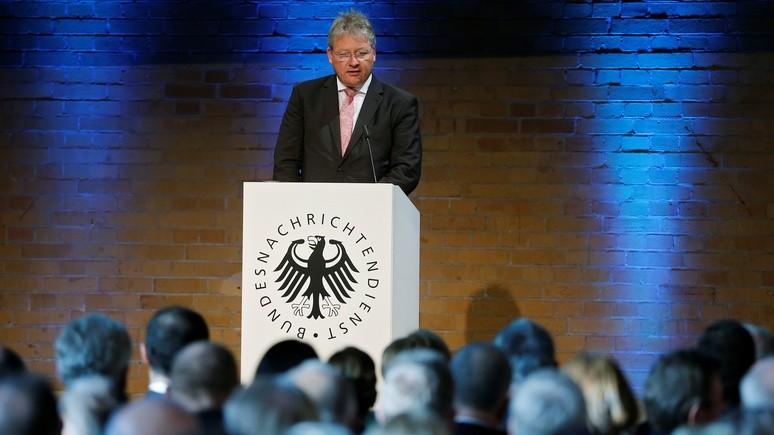 Глава немецкой разведки: Россия нам не партнёр, а потенциальная угроза