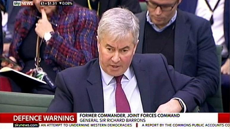Британский генерал: Великобритания не способна защититься от таких врагов как Россия