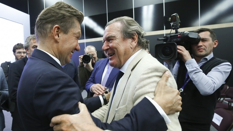 NZZ: Шрёдер стал Германии в тягость, когда занял сторону Кремля