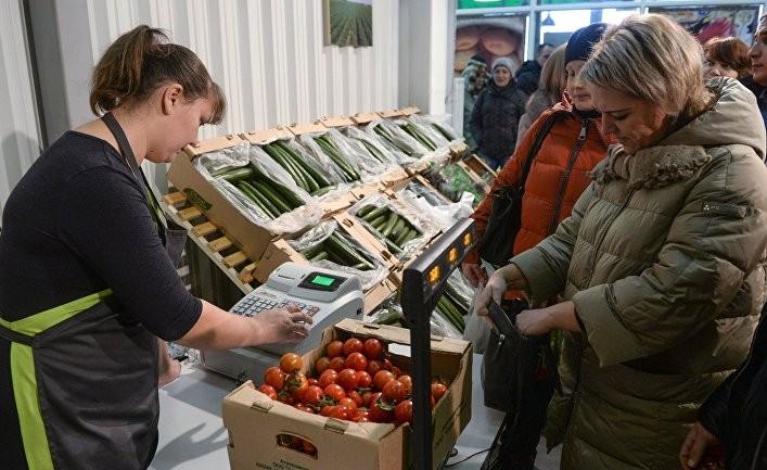 Хвост ракеты за тонны помидор