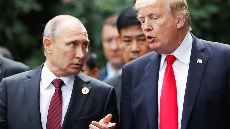Politico: либо Трамп слишком наивен, либо Путин слишком хорош