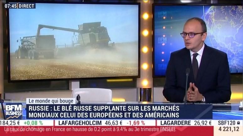 BFM TV: «зерновой» прорыв России не даёт покоя западным конкурентам