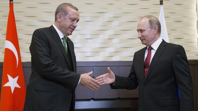 Al Monitor: турки видят в России «надёжного союзника», а в США — «главную угрозу»