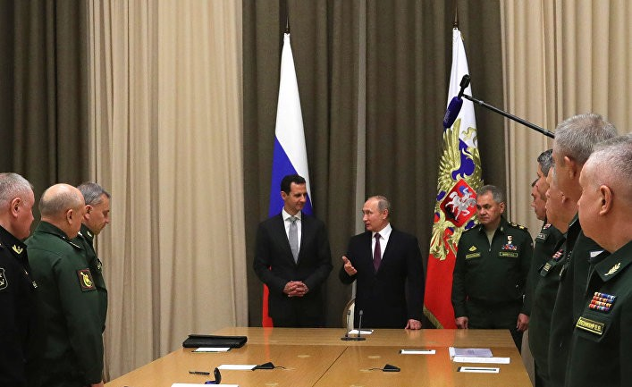 Президент Путин присвоил победу над ИГИЛ в Сирии