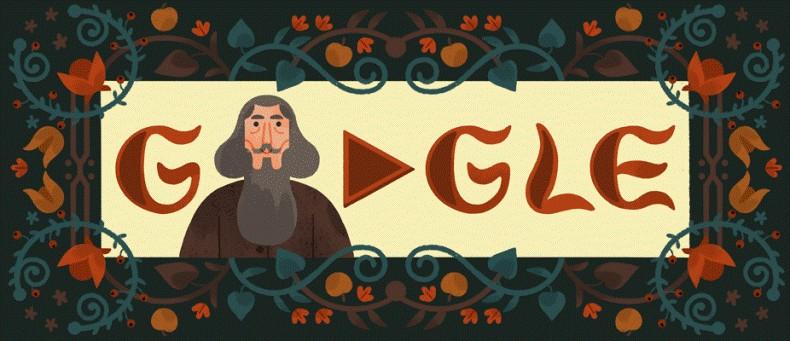 Почему Google отмечает 216-летие Владимира Даля с помощью Google Doodle