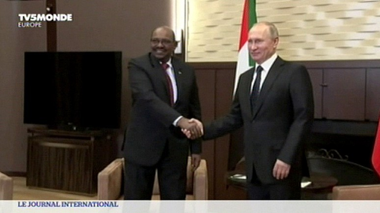 TV5 Monde: президент Судана поддержал сирийский курс Москвы
