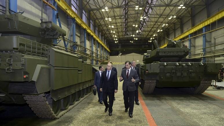 Bild: Путин может быть уверен — тезис о милитаризации промышленности в Восточной Европе услышали