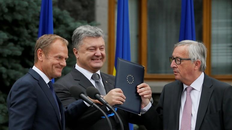 Politico: Украину развалил Евросоюз — Россия только помогала