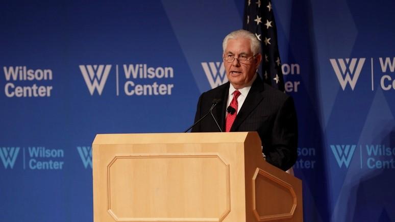 LAT: Тиллерсон раскритиковал Россию за попытки установить новый баланс сил