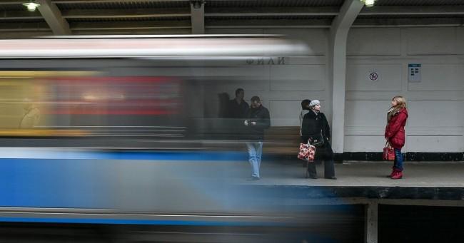 Работы по отделке и монтажу восточного вестибюля станции метро «Фили» завершены на 75%