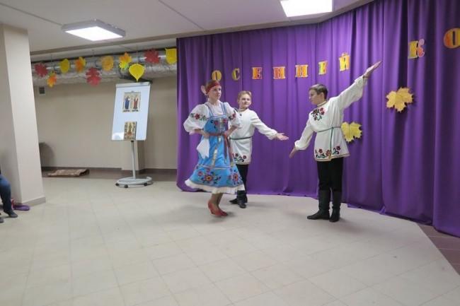 В храме Иоанна Русского прошел традиционный осенний концерт приходской воскресной школы