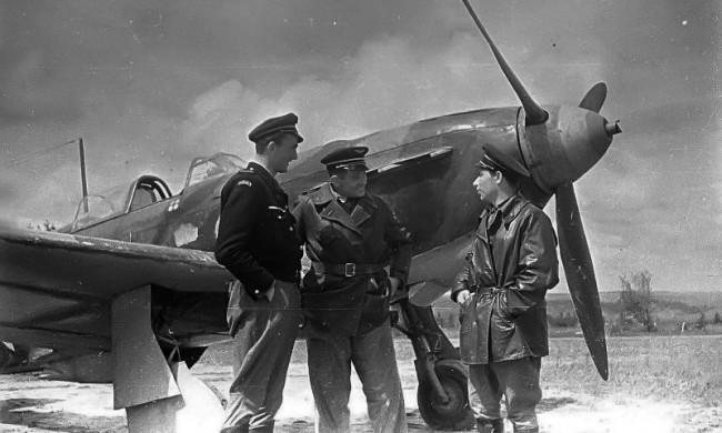 В Музее Победы рассказали о лётчике Морисе Гидо