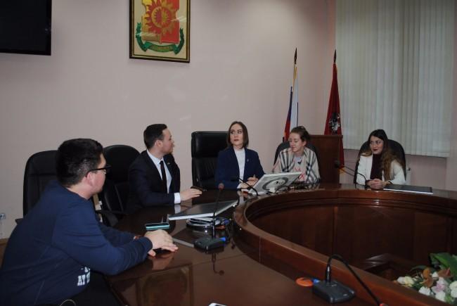 В Солнцево состоялось первое заседание нового состава молодежной палаты района