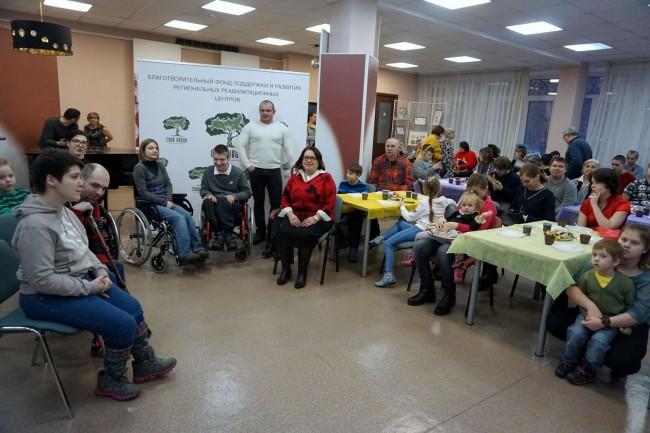 В ЗАО прошел праздник для детей с ограниченными возможностями