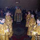 Литургии для детей Рождественским постом пройдут в храме Архангела Михаила