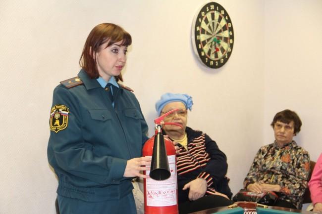 В ТЦСО « Можайский» поговорили о безопасности
