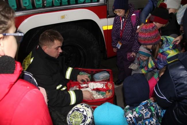 Как учащиеся школы № 887 знакомились с профессией пожарного
