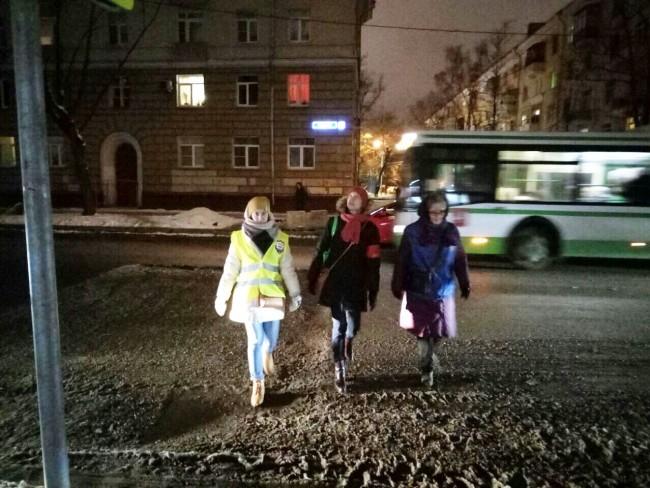 Участники проекта «Безопасная столица» проверили дороги по жалобе жителя Можайского района