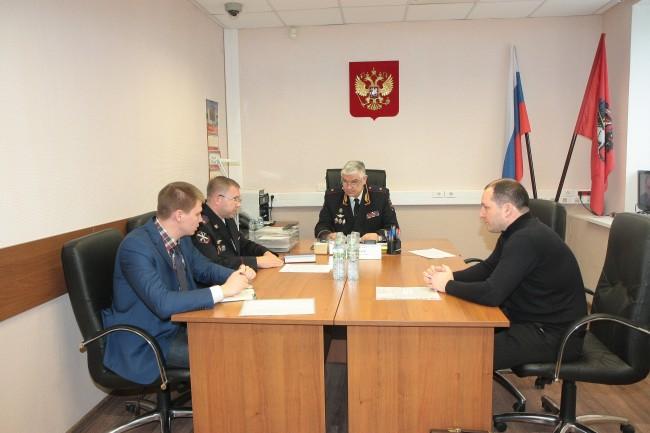 Руководство УВД по Западному округу приняло участие в Общероссийском дне приема граждан