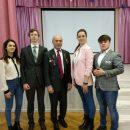 В школе №1248 прошла встреча с генерал–майором Магомедом Толбоевым