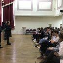 Член Общественного совета при УВД по ЗАО приняла участие во встрече со школьниками