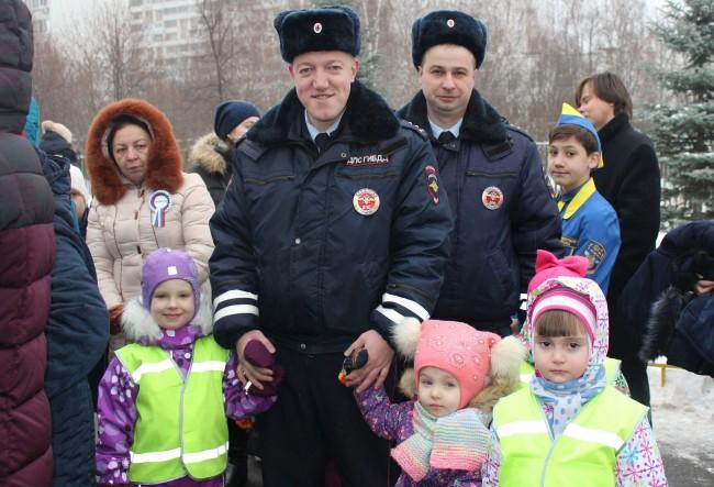 Сотрудники ГИБДД ЗАО примут участие в общегородском профилактическом мероприятии «Зимние каникулы»