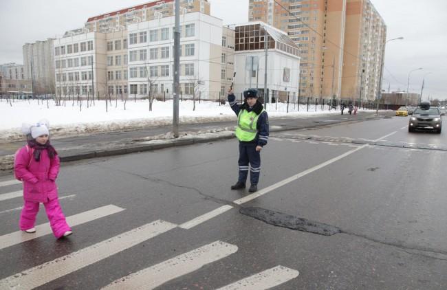 Госавтоинспекция Западного округа подвела итоги окружного профилактического мероприятия «Пешеход»!