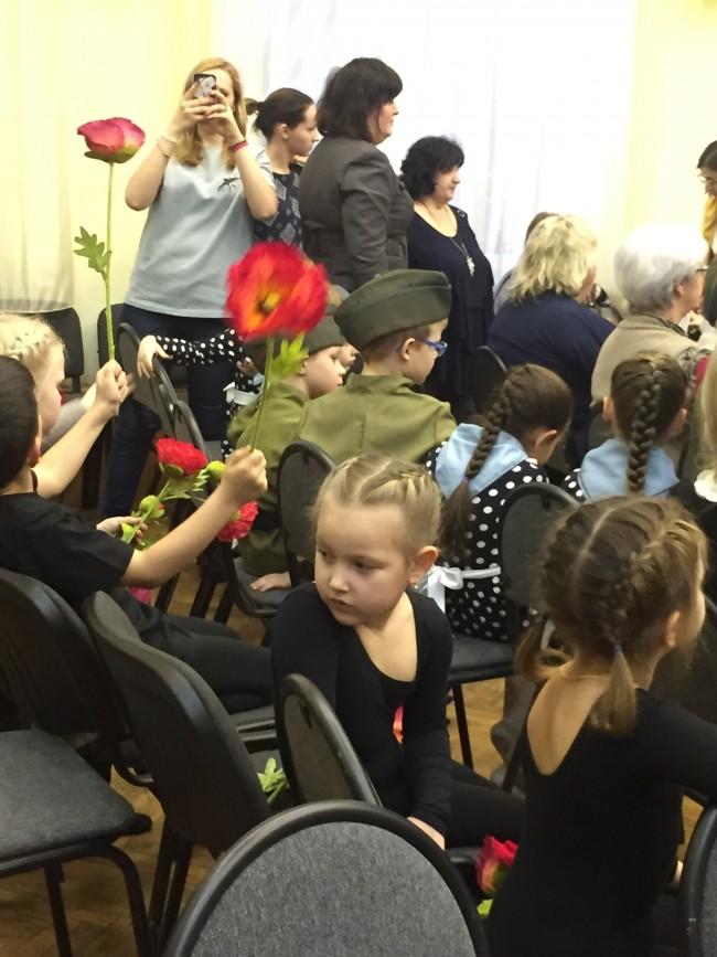 В школе № 1248 прошел фестиваль-конкурс художественной самодеятельности ветеранов и учащихся