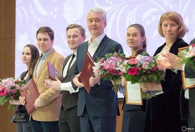 Благодарность от мэра Москвы заслужил студент МТУ Савва Лебедев