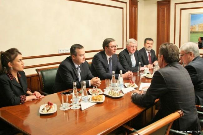 МГИМО посетил президент Сербии Александр Вучич