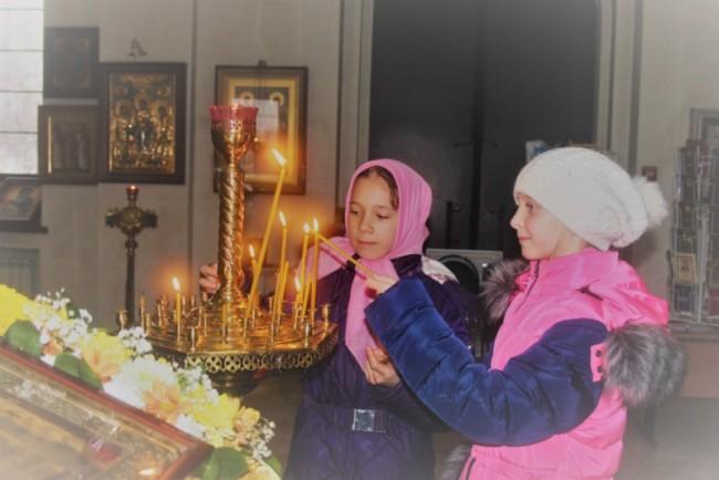 В храме священномученика Ермогена  в Крылатском прошла экскурсия для учеников  школы № 1471