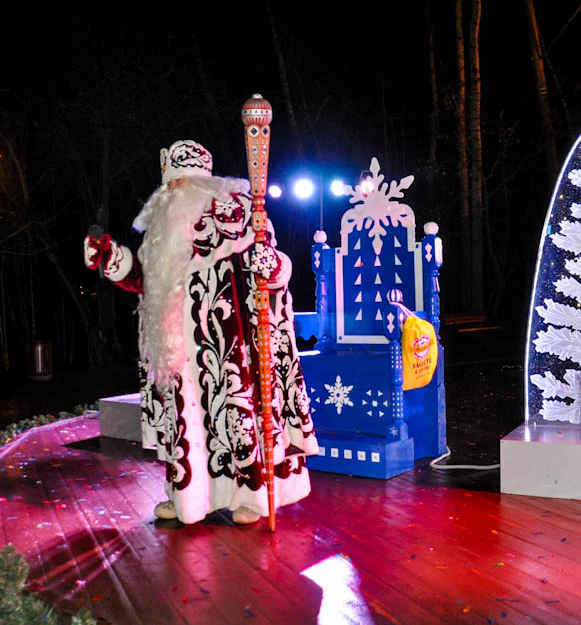 24 декабря в парке «Фили» встретят Деда Мороза