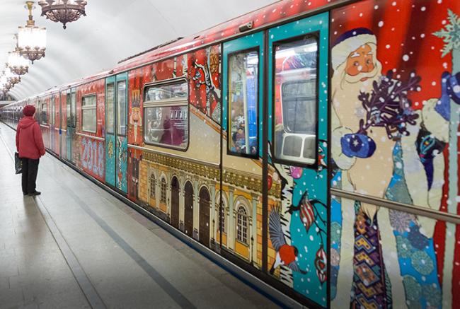 Жители ЗАО прокатятся на Новогоднем поезде
