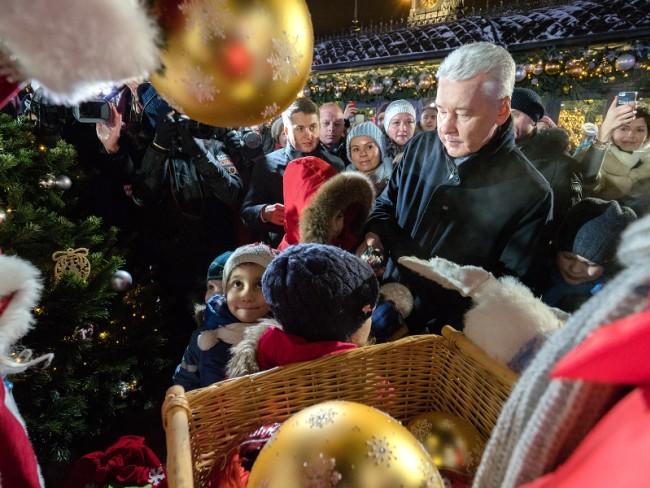 В Москве стартовал традиционный фестиваль «Путешествие в Рождество»