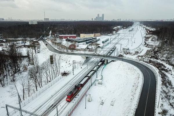 В столице открыто движение транспорта по Богородскому путепроводу